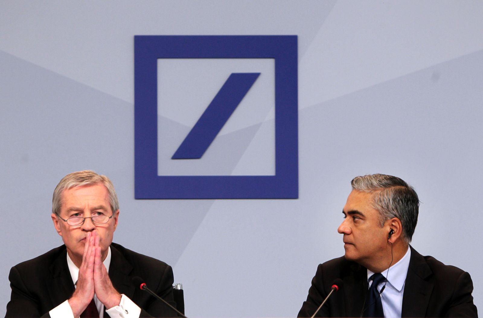 Deutsche-Bank Pressekonferenz
