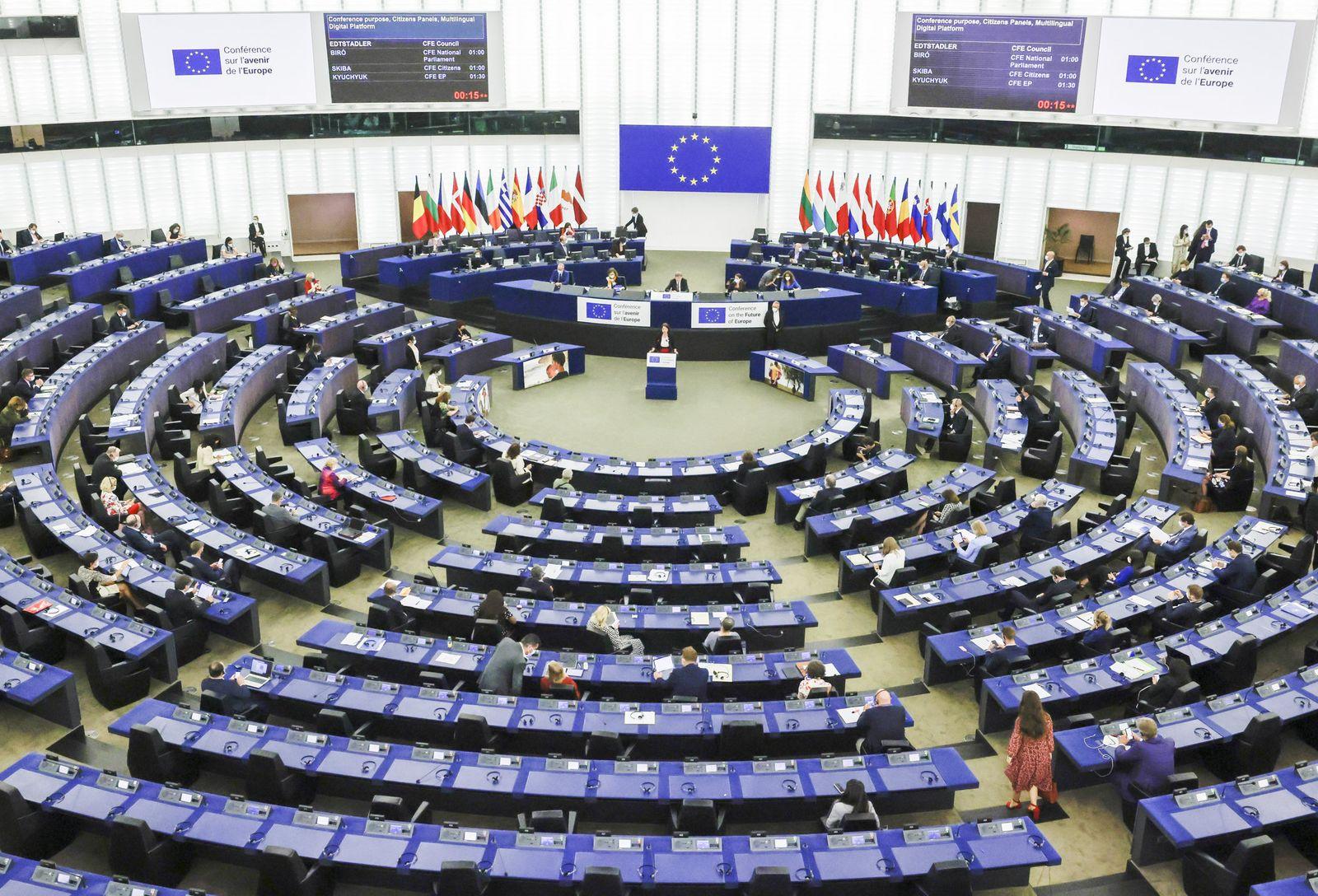 Erste Plenarsitzung der Konferenz zur Zukunft Europas