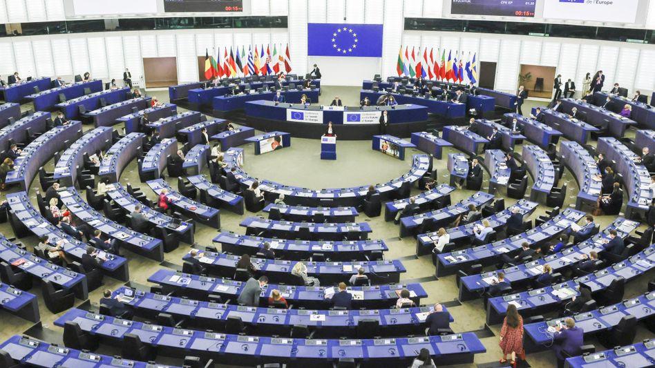 EU-Parlament in Straßburg (Archivbild): datenschutzrechtliche Bedenken