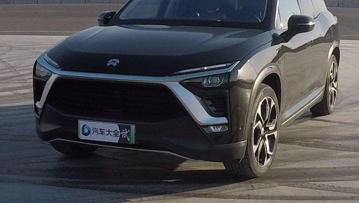 Nio ES8: Wechselakku-SUV aus China