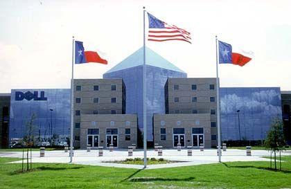 Dell-Firmensitz in Round Rock: Starkes Wachstum jenseits der USA