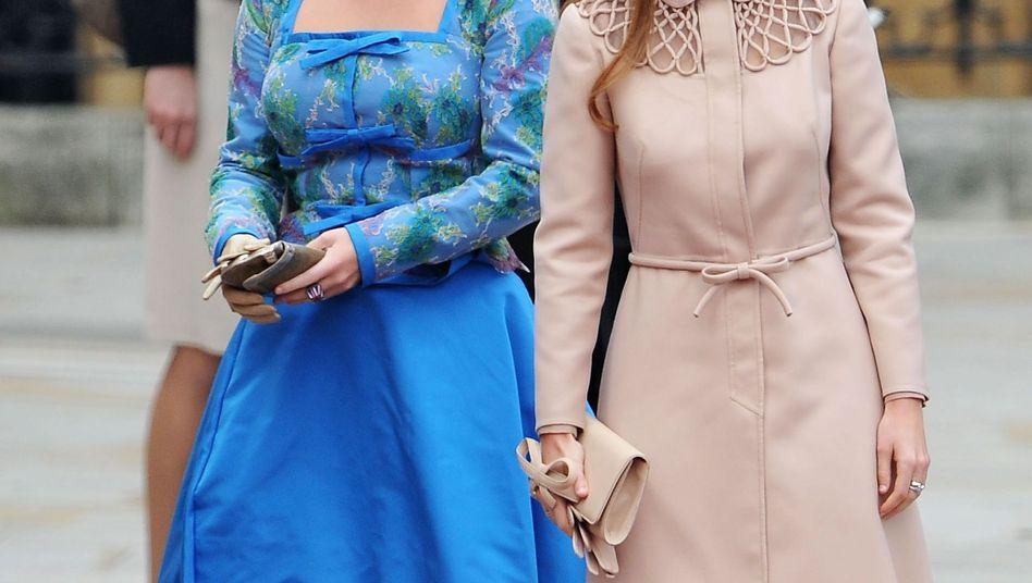 Prinzessin Beatrix und Prinzessin Eugenie