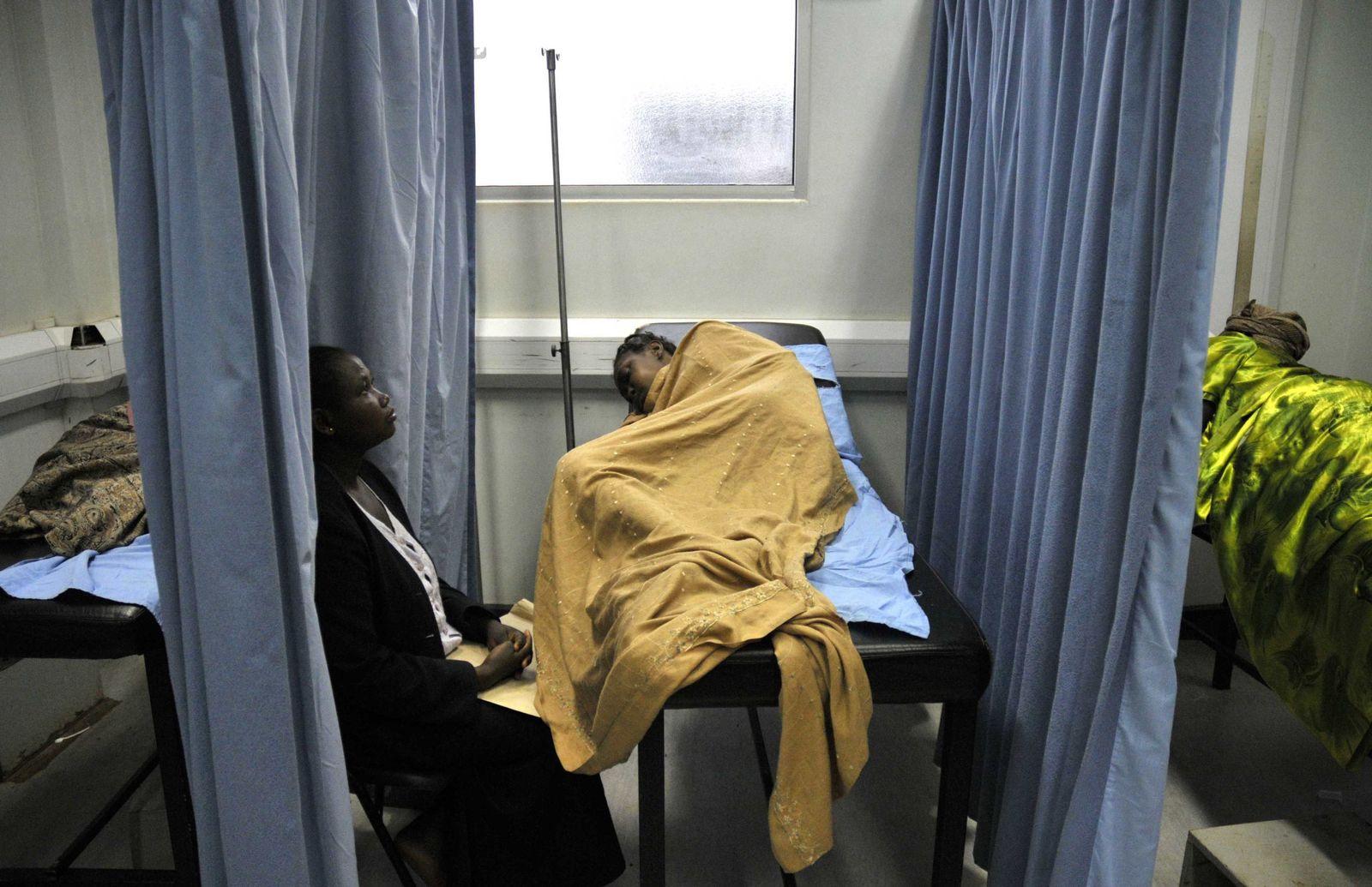 Aids-Patient in Uganda
