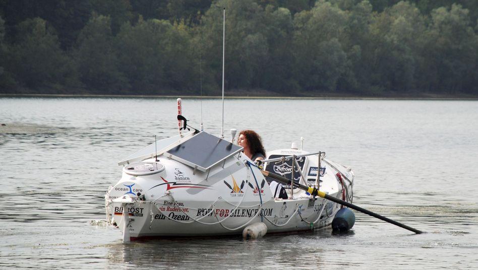 Extrem-Ruderin Janice Jakait: In einem Hightech-Boot gelang ihr die Atlantiküberquerung