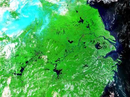 Rußwolke über China: Fluten im Süden, Dürre im Norden