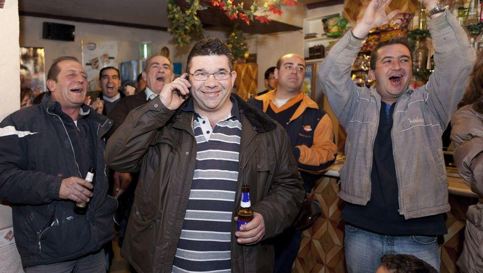Große Freude bei den Bewohnern von Villar de Cañas: Das Atommülllager kommt