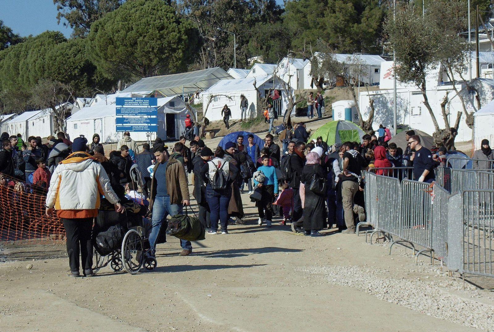Griechenland / Flüchtlingscamp