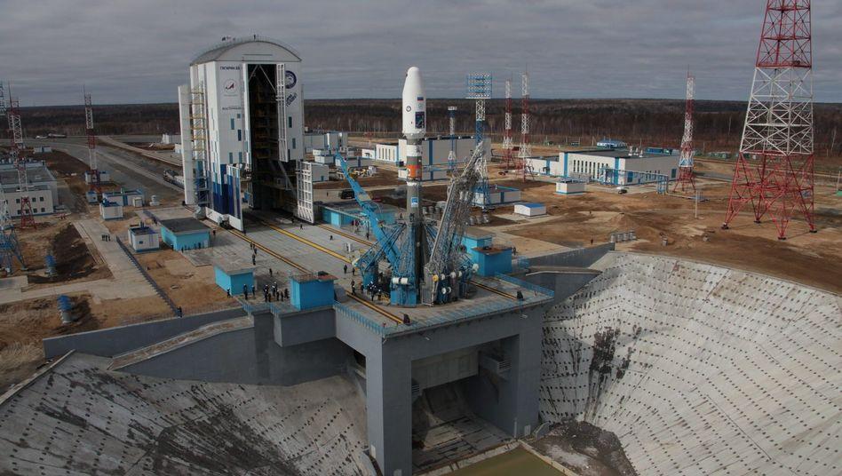 Neuer russischer Weltraumbahnhof Wostotschnij (Archivbild)