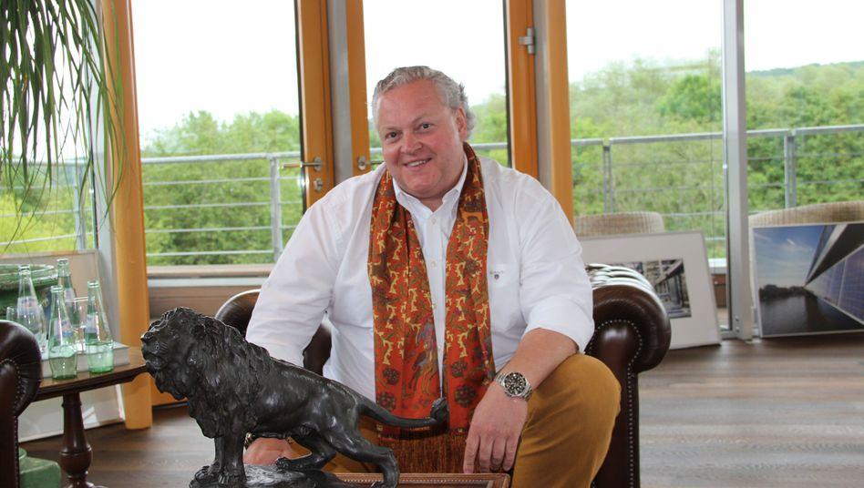 Solarworld-CEO Frank Asbeck: Der Löwe brüllt noch