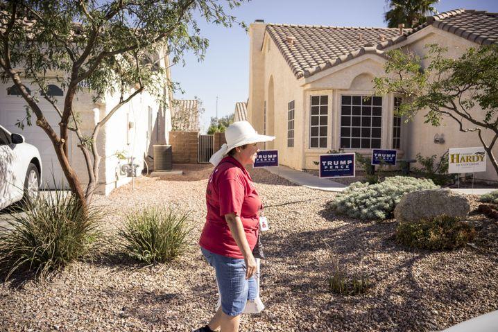 Clinton-Wahlhelferin Maria Landeros in Las Vegas