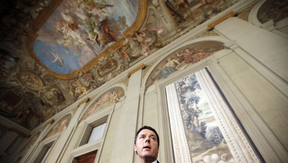 Photo Gallery: A New Premier for Italy