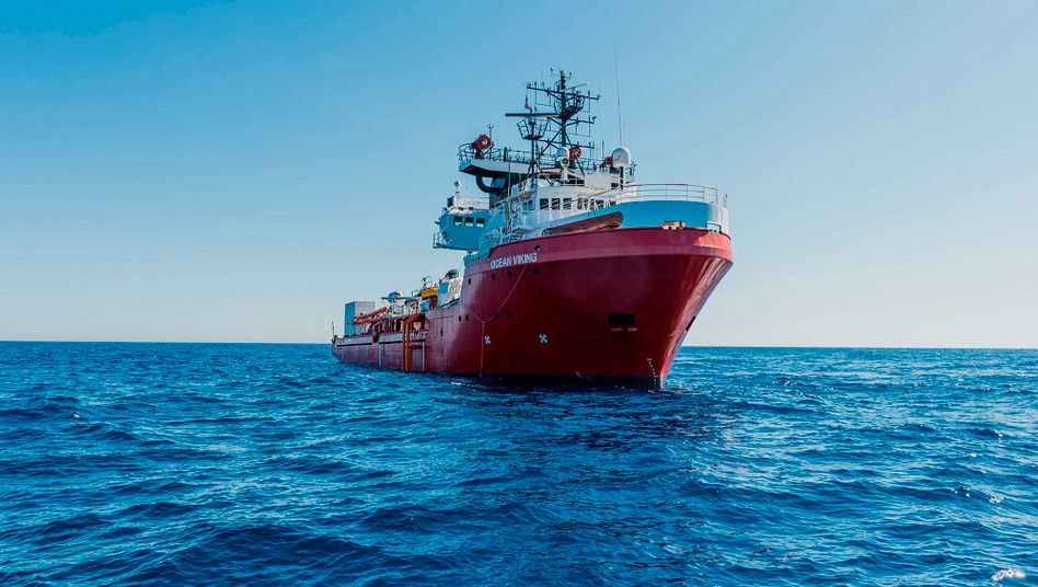 Rettungsschiff »Ocean Viking« (Archiv)