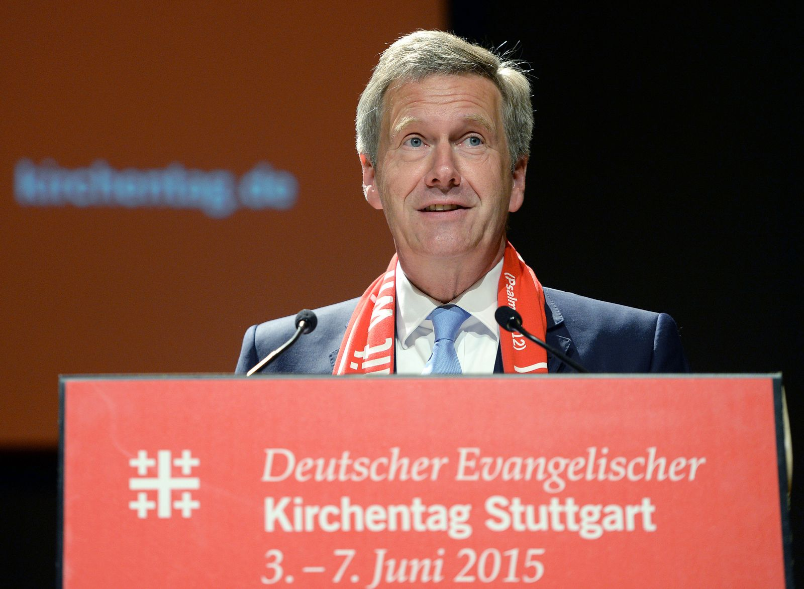 Christian Wulff / Kirchentag
