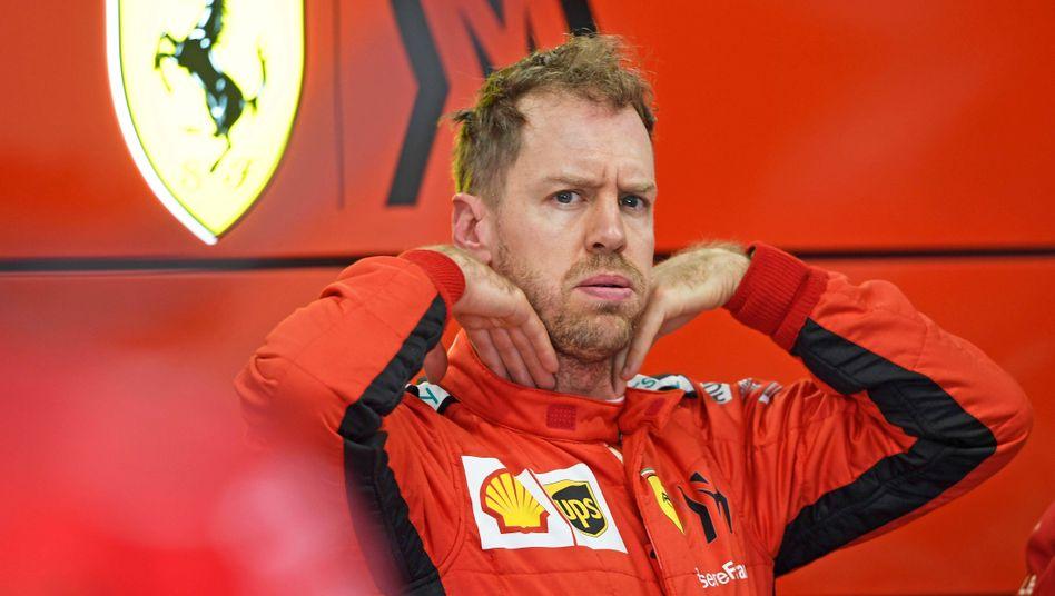 Passt nicht mehr: Sebastian Vettel und Ferrari