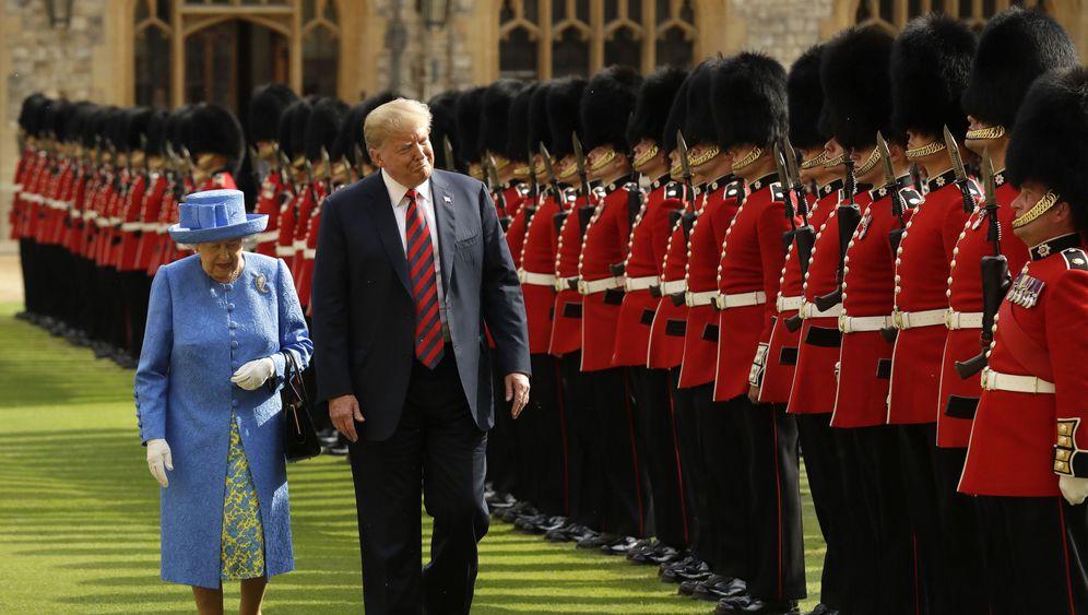 Trump trifft Queen: Auf einen Tee mit der Monarchin