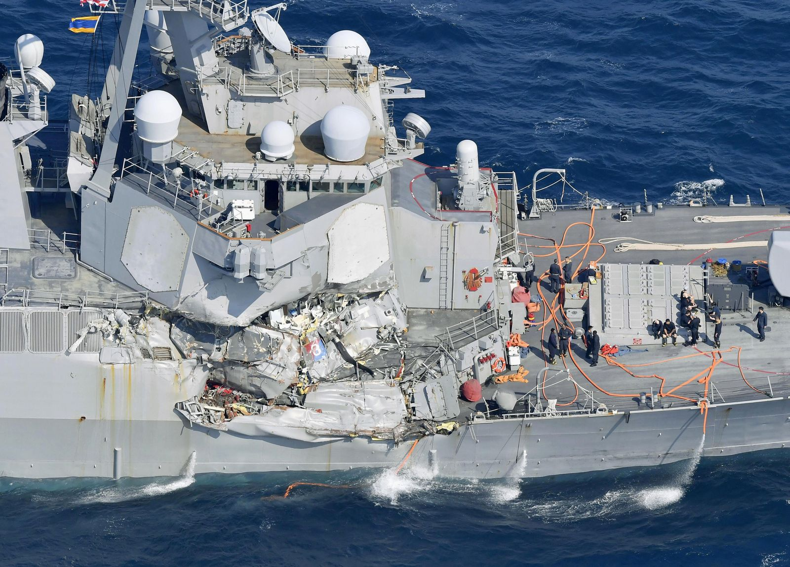 USS Fitzgerald/ Kollision