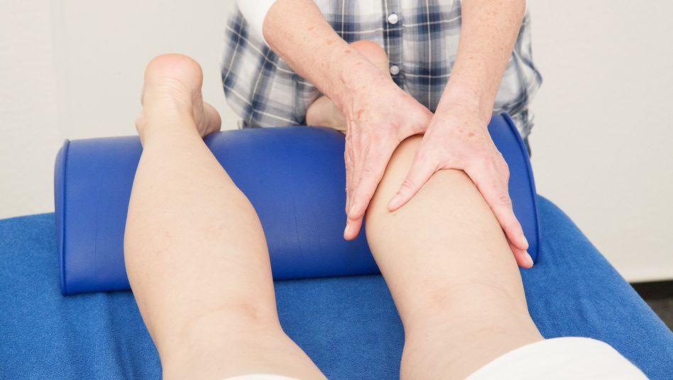 Lymphdrainage: Wichtiger Bestandteil der Therapie eines Lymphödems