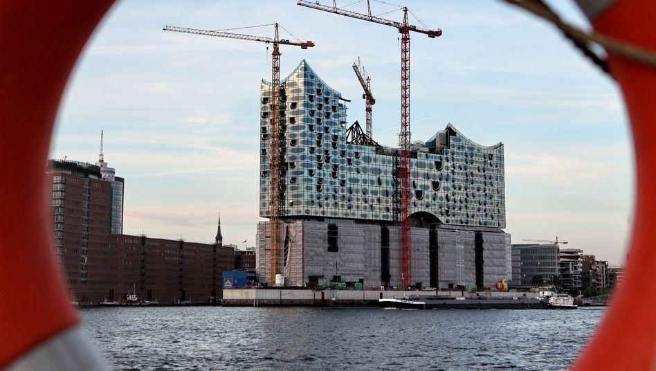 Elbphilharmonie: Eröffnung ursprünglich 2010 geplant, nun ist 2014 angepeilt
