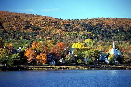 Granville Ferry in Nova Scotia: Es riecht nach Tang, nach Humus und nach absterbenden Blättern