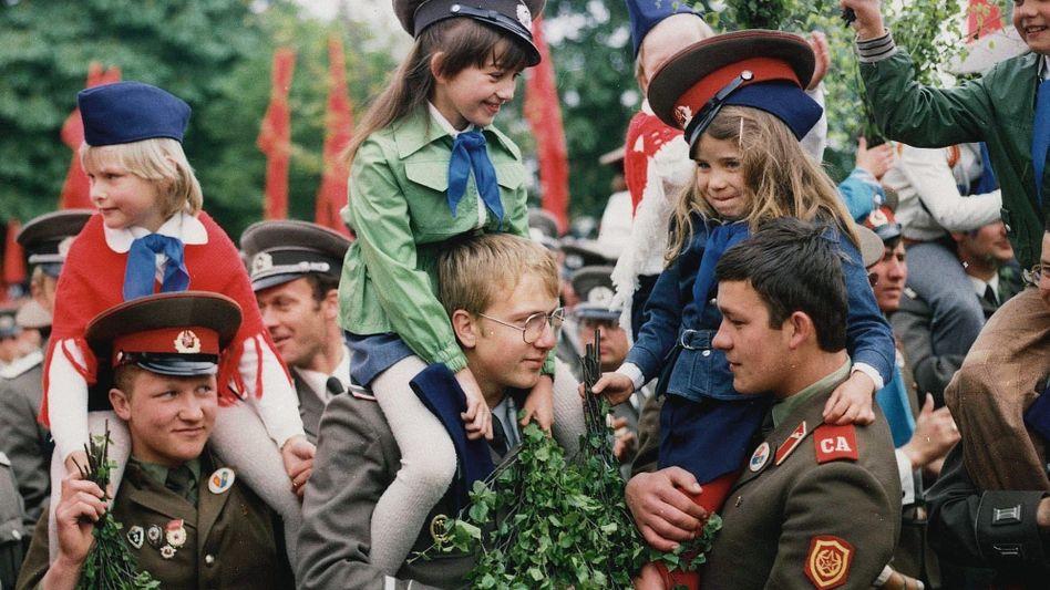 Sowjetische Soldaten in der DDR