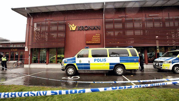 Attentat an Schule: Trauer in Trollhättan