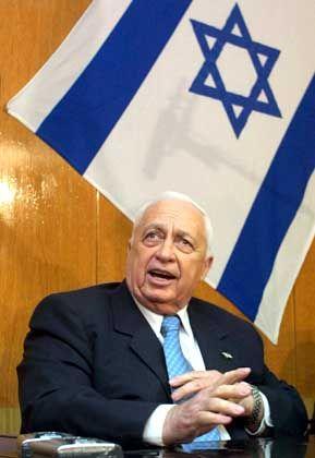 Israels Premierminister Ariel Scharon