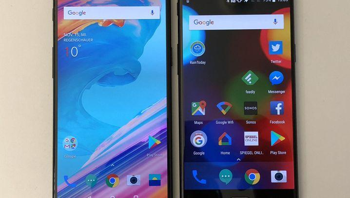 Smartphone aus China: Das OnePlus 5T im Test