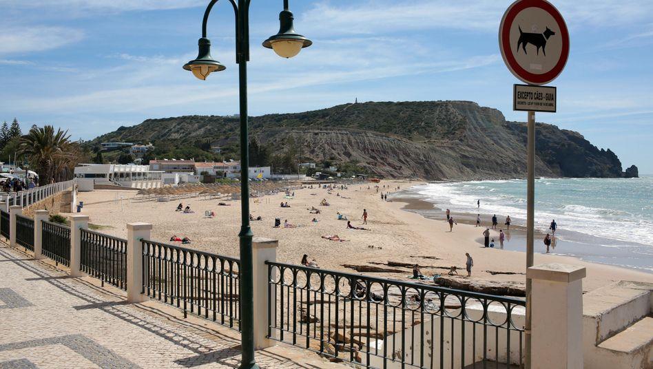 Strand in Praia da Luz (Archiv)