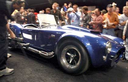 Traumauto: Der Shelby Cobra bei der Auktion in Scottsdale