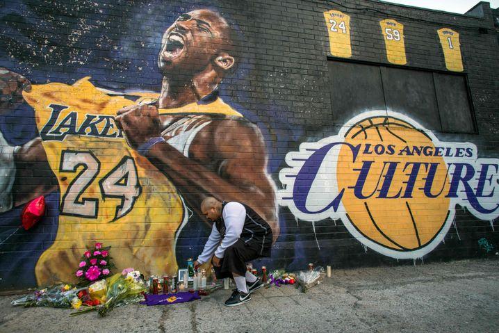 Trauer um Basketball-Legende Kobe Bryant