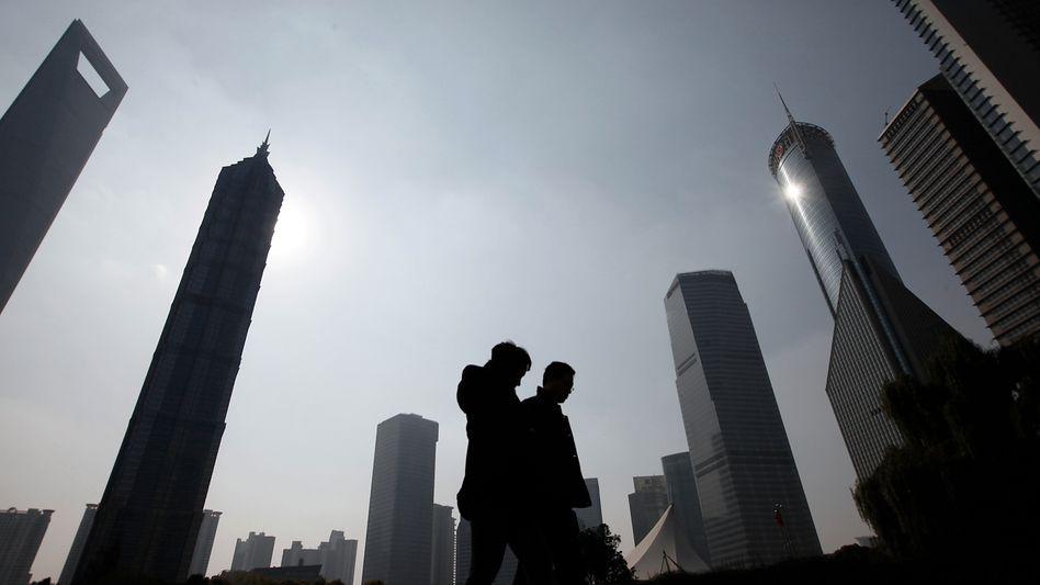 """Geschäftsviertel in Schanghai: """"Ständig müssen Mitarbeiter neu eingearbeitet werden"""""""