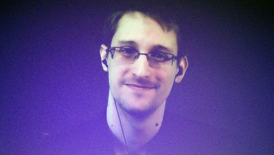 Edward Snowden 2014 in Moskau