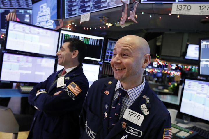 New York Stock Exchange am Mittwoch