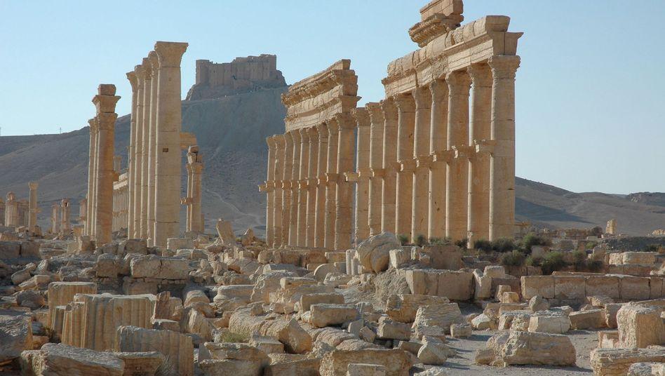Weltkulturerbe in Palmyra (Archivbild): Luftschläge auf IS - oder auf Zivilisten?