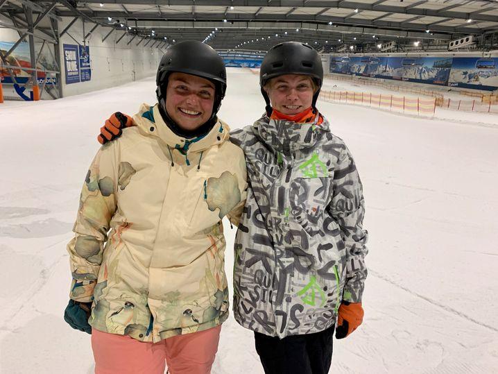 Isabelle und Sandy Meibert