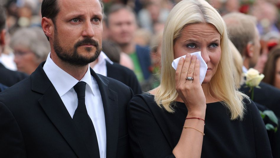 """Norwegens Kronprinz Haakon, Kronprinzessin Mette-Marit: """"Straßen mit Liebe gefüllt"""""""