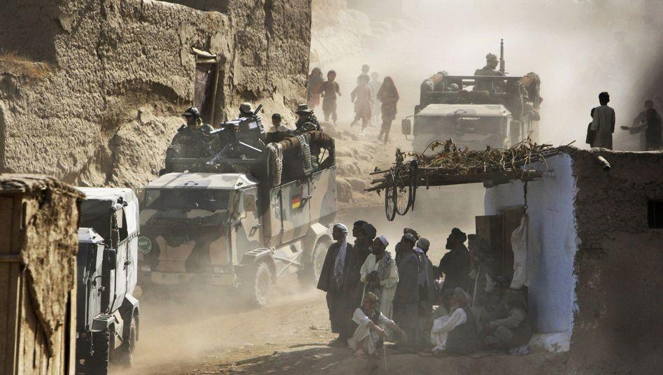Bundeswehr-Patrouille in Kunduz: Hinweise auf mehr Anschläge