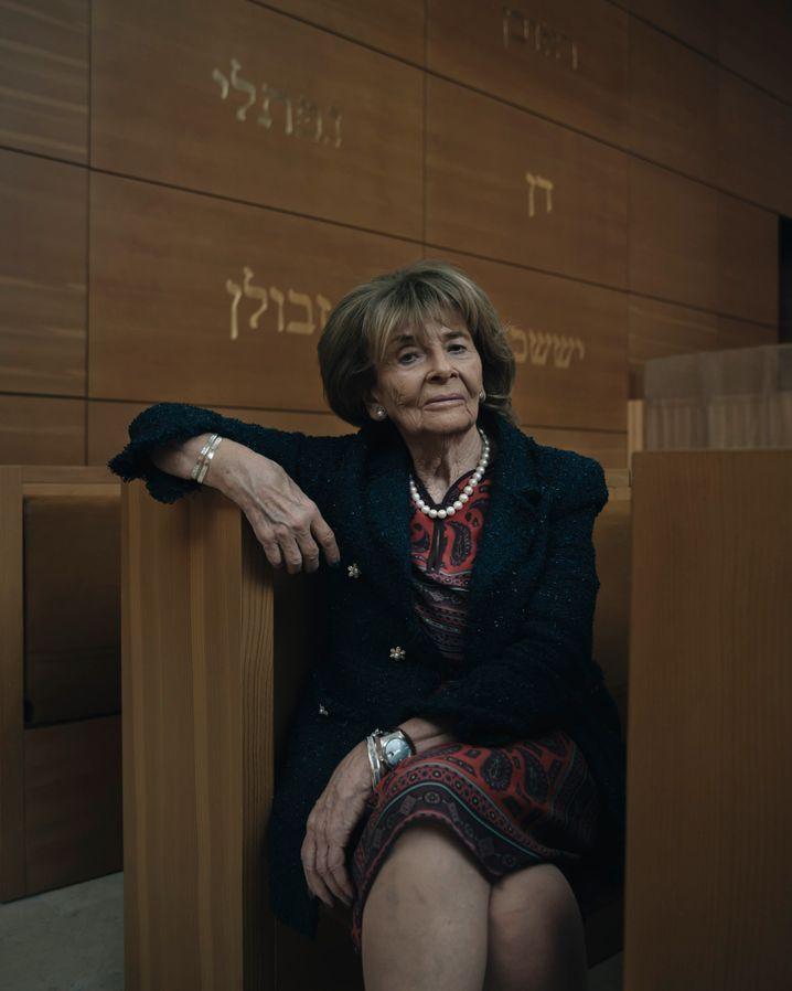 Jewish community leader Charlotte Knobloch