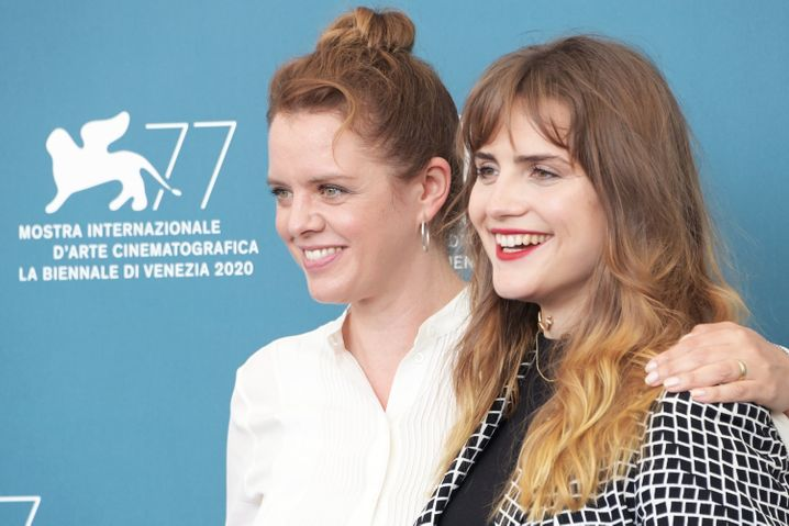 Regisseurin Julia von Heinz (l.) und Schauspielerin Mala Emde