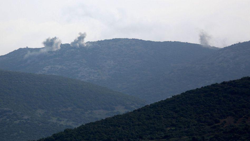 Beschuss der Umgebung von Afrin