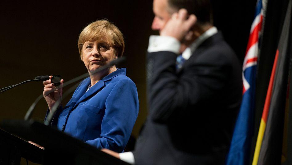 Kanzlerin Merkel: Droht das Ende des deutschen Optimismus?