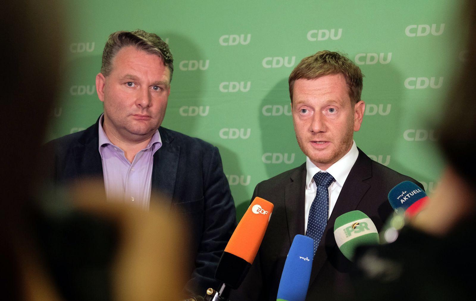 CDU/ Sachsen/ Kretschmer/ Hartmann