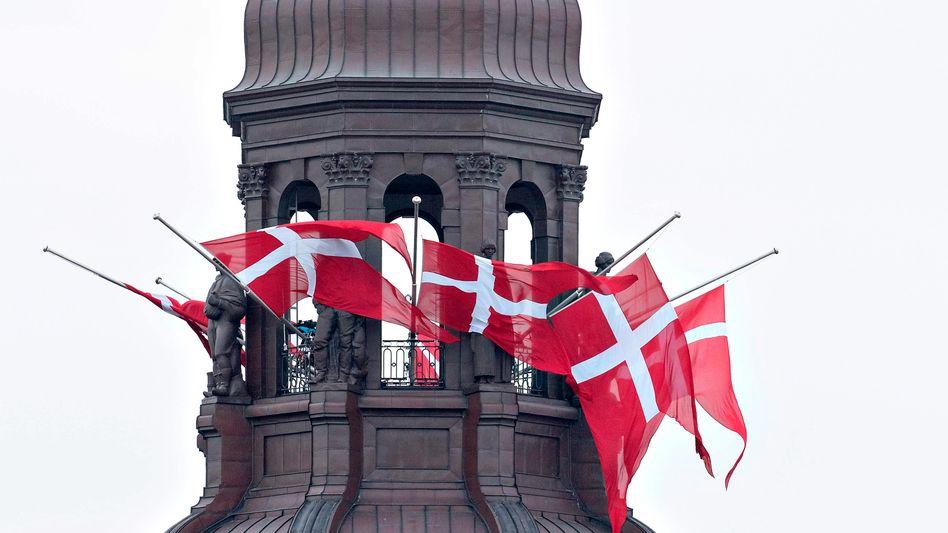 Dänisches Parliament Christiansborg Palast (Archiv)