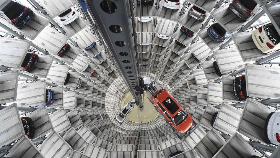 Volkswagenturm in Wolfsburg