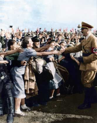 Hitler took great care to pamper and coddle his people and they loved him -- and the Nazi regime -- for it.