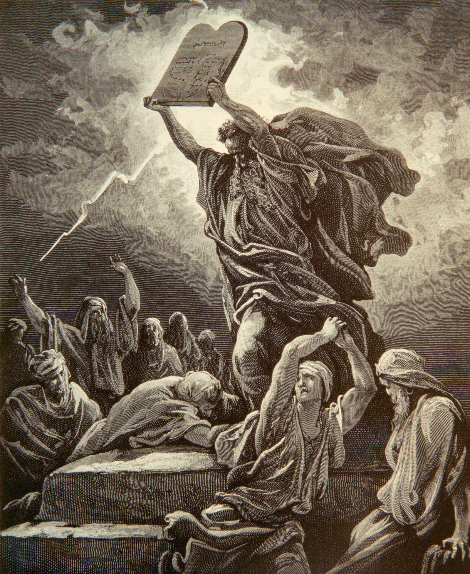 NICHT MEHR VERWENDEN! - Gründerväter / USA / Symbol / Moses