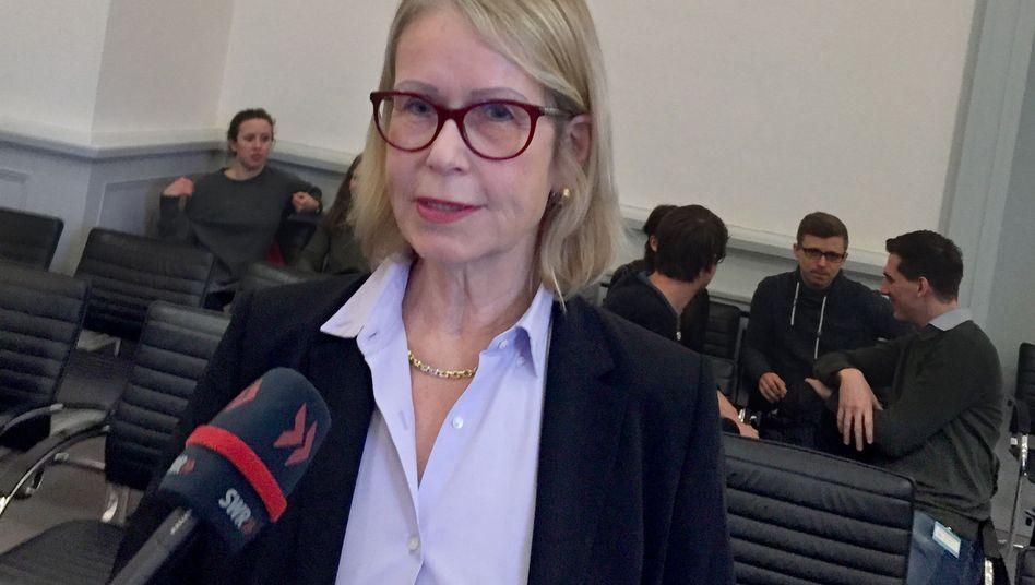 Dermatologin und Allergologin Astrid Eichhorn (in Karlsruhe im Januar 2018)