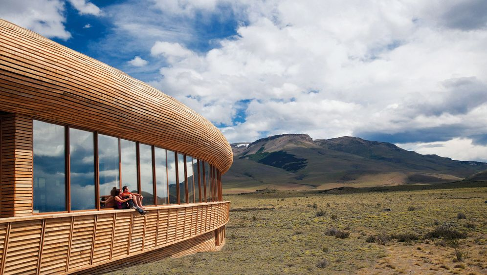 Moderne Architektur: Holz in der Hütte