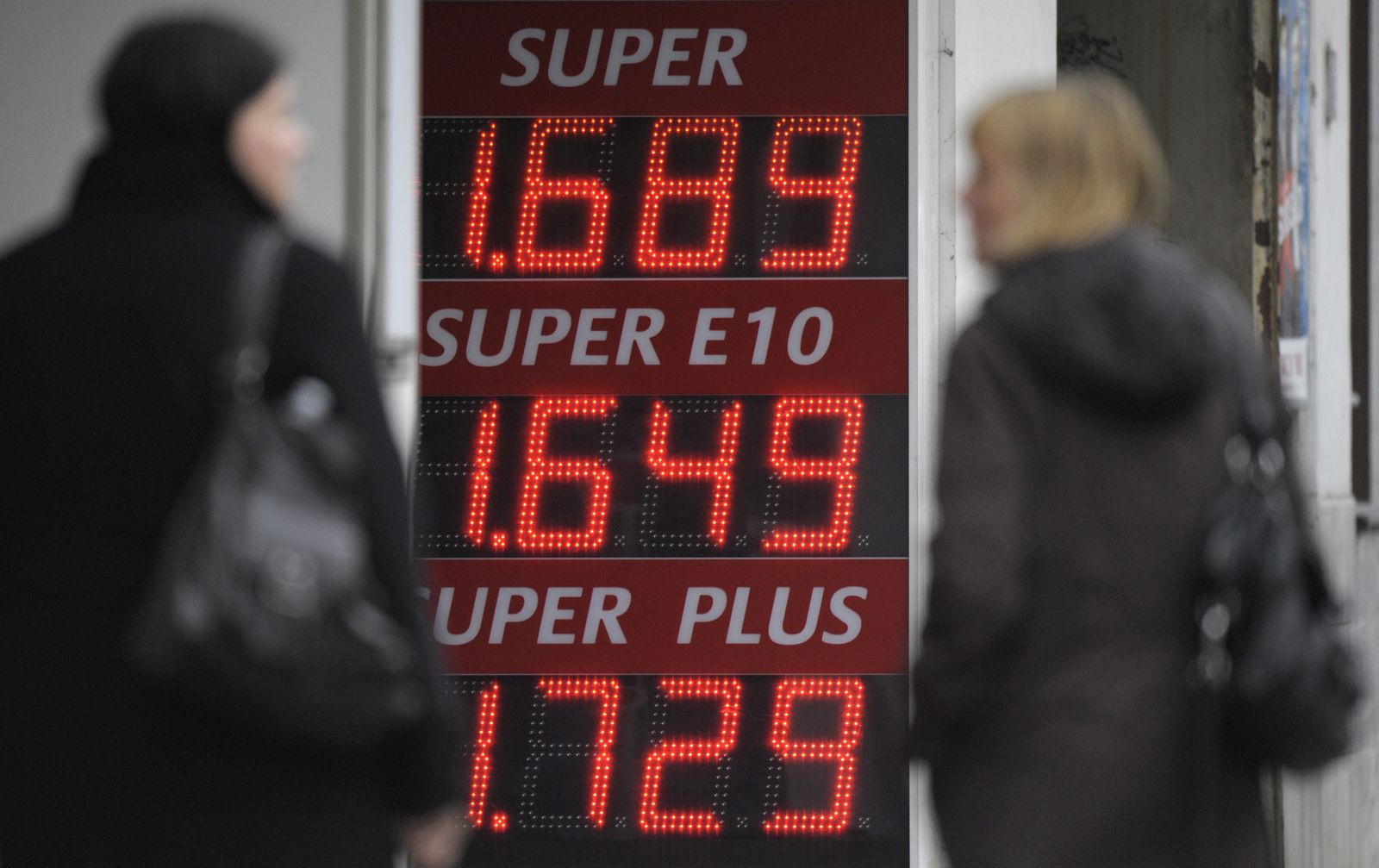 NICHT VERWENDEN Benzinpreis