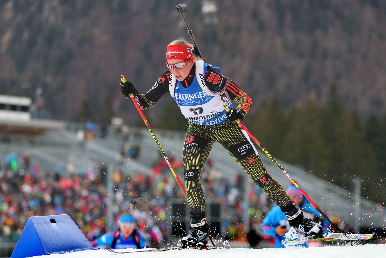 Biathlon Weltcup in Ruhpolding: 7,5 km Sprint Frauen